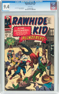 Silver Age (1956-1969):Western, Rawhide Kid #55 (Marvel, 1966) CGC NM 9.4 White pages....