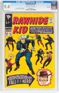 Silver Age (1956-1969):Western, Rawhide Kid #56 Mile High II Pedigree (Marvel, 1967) CGC NM 9.4Off-white to white pages....