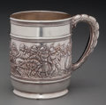 Silver Holloware, American:Cups, A Tiffany & Co. Silver Child's Mug with Patriotic Motif, NewYork, New York, circa 1892-1902. Marks: TIFFANY & CO, 5470MA...