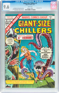 Bronze Age (1970-1979):Horror, Giant-Size Chillers #1 (Marvel, 1975) CGC NM+ 9.6 White pages....