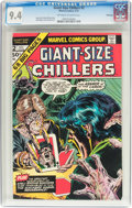 Bronze Age (1970-1979):Horror, Giant-Size Chillers #2 Winnipeg Pedigree (Marvel, 1975) CGC NM 9.4Off-white to white pages....