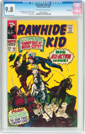Silver Age (1956-1969):Western, Rawhide Kid #63 Massachusetts Pedigree (Marvel, 1968) CGC NM/MT 9.8Off-white to white pages....