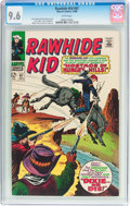 Silver Age (1956-1969):Western, Rawhide Kid #67 (Marvel, 1968) CGC NM+ 9.6 White pages....