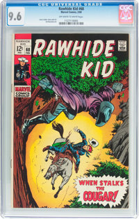 Rawhide Kid #68 (Marvel, 1969) CGC NM+ 9.6 Off-white to white pages