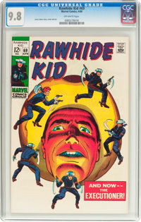 Rawhide Kid #69 (Marvel, 1969) CGC NM/MT 9.8 Off-white pages
