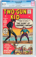 Silver Age (1956-1969):Western, Two-Gun Kid #52 (Marvel, 1960) CGC VF+ 8.5 Off-white to whitepages....