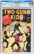 Silver Age (1956-1969):Western, Two-Gun Kid #53 (Marvel, 1960) CGC NM 9.4 Off-white pages....