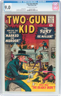 Silver Age (1956-1969):Western, Two-Gun Kid #55 (Marvel, 1960) CGC VF/NM 9.0 Off-white to whitepages....