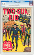 Silver Age (1956-1969):Western, Two-Gun Kid #56 (Marvel, 1960) CGC VF/NM 9.0 Off-white pages....