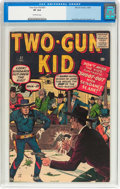 Silver Age (1956-1969):Western, Two-Gun Kid #57 (Marvel, 1960) CGC VF 8.0 Off-white pages....