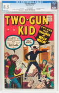 Silver Age (1956-1969):Western, Two-Gun Kid #59 (Marvel, 1961) CGC VF+ 8.5 Off-white pages....