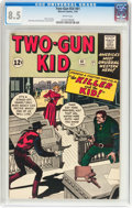 Silver Age (1956-1969):Western, Two-Gun Kid #61 (Marvel, 1963) CGC VF+ 8.5 White pages....