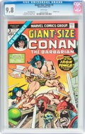 Bronze Age (1970-1979):Miscellaneous, Giant-Size Conan #3 (Marvel, 1975) CGC NM/MT 9.8 White pages....