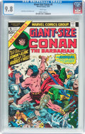 Modern Age (1980-Present):Miscellaneous, Giant-Size Conan #5 (Marvel, 1975) CGC NM/MT 9.8 White pages....