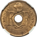 French Equatorial Africa, French Equatorial Africa: Republic 10 Centimes 1943 MS64 NGC,...
