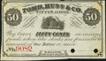 Obsoletes By State:Ohio, Tiffin, OH- M. Sullivan at Tomb, Huss & Co. 50¢ Nov. 1, 1862Remainder. ...