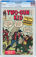 Silver Age (1956-1969):Western, Two-Gun Kid #64 (Marvel, 1963) CGC NM 9.4 Off-white to whitepages....