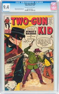 Silver Age (1956-1969):Western, Two-Gun Kid #66 (Marvel, 1963) CGC NM 9.4 Off-white to whitepages....