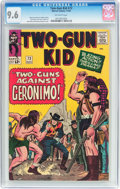 Silver Age (1956-1969):Western, Two-Gun Kid #72 (Marvel, 1964) CGC NM+ 9.6 Off-white pages....