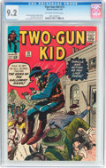 Silver Age (1956-1969):Western, Two-Gun Kid #73 (Marvel, 1965) CGC NM- 9.2 Off-white to whitepages....