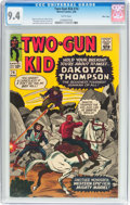 Silver Age (1956-1969):Western, Two-Gun Kid #74 Massachusetts Pedigree (Marvel, 1965) CGC NM 9.4White pages....