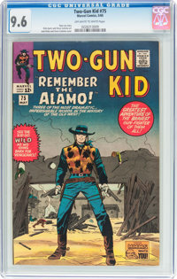 Two-Gun Kid #75 (Marvel, 1965) CGC NM+ 9.6 Off-white to white pages