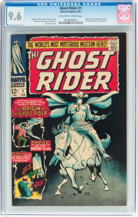 The Ghost Rider #1 (Marvel, 1967) CGC NM+ 9.6 Off-white to white pages