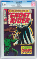 Silver Age (1956-1969):Western, The Ghost Rider #3 (Marvel, 1967) CGC NM+ 9.6 White pages....