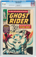 Silver Age (1956-1969):Western, The Ghost Rider #4 (Marvel, 1967) CGC NM+ 9.6 Off-white to whitepages....