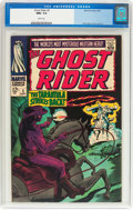 Silver Age (1956-1969):Western, The Ghost Rider #5 (Marvel, 1967) CGC NM+ 9.6 White pages....