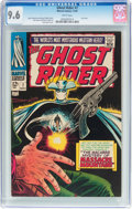 Silver Age (1956-1969):Western, The Ghost Rider #7 (Marvel, 1967) CGC NM+ 9.6 White pages....