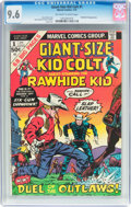Bronze Age (1970-1979):Western, Giant-Size Kid Colt #1 (Marvel, 1975) CGC NM+ 9.6 Off-white to white pages....