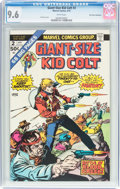 Bronze Age (1970-1979):Western, Giant-Size Kid Colt #2 Don Rosa Collection Pedigree (Marvel, 1975) CGC NM+ 9.6 White pages....