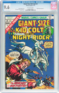 Bronze Age (1970-1979):Western, Giant-Size Kid Colt #3 (Marvel, 1975) CGC NM+ 9.6 Off-white pages....