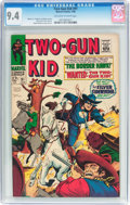 Silver Age (1956-1969):Western, Two-Gun Kid #91 (Marvel, 1968) CGC NM 9.4 Off-white to whitepages....