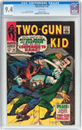 Silver Age (1956-1969):Western, Two-Gun Kid #90 (Marvel, 1967) CGC NM 9.4 White pages....