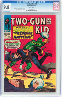 Two-Gun Kid #88 (Marvel, 1967) CGC NM/MT 9.8 White pages