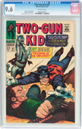 Silver Age (1956-1969):Western, Two-Gun Kid #87 (Marvel, 1967) CGC NM+ 9.6 Off-white pages....