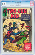 Silver Age (1956-1969):Western, Two-Gun Kid #83 (Marvel, 1966) CGC NM/MT 9.8 White pages....