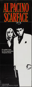 "Movie Posters:Crime, Scarface (Universal, 1984). French Pantalon (23"" X 61.5""). Crime....."