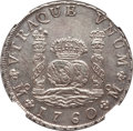Mexico, Mexico: Charles III 8 Reales 1760 Mo-MM AU58 NGC,...