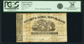 Obsoletes By State:Louisiana, Centerville, LA - T. D. Hine, pay at Stuart & James, New Orleans 25 Cents Nov. 1861. PCGS Very Fine 20 Apparent.. ...