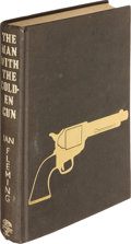 Books:Mystery & Detective Fiction, [James Bond]. Ian Fleming. The Man with the Golden Gun.London: Jonathan Cape, [1965]. First edition, first state bi...
