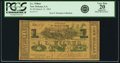 Obsoletes By State:Louisiana, New Orleans, LA - I. L. Wilbur $1 Mar. 15, 1862. PCGS Very Fine 20 Apparent.. ...
