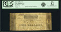 Obsoletes By State:Louisiana, New Orleans, LA - J. J. McKeever $2 Jan. 6, 1862. PCGS Fine 12 Apparent.. ...