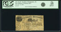 Obsoletes By State:Louisiana, New Orleans, LA - Powell & Taylor, Payable at J. R. Powell, Montgomery 25 Cents Jany. 15, 1862 Rosene 249-3. PCGS Fine 15 Appa...