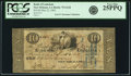 Obsoletes By State:Louisiana, New Orleans, LA - Bank of Louisiana $10 Forced Issue May 22, 1862 LA-75 G12d. PCGS Very Fine 25PPQ.. ...