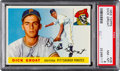 Baseball Cards:Singles (1950-1959), 1955 Topps Dick Groat #26 PSA NM-MT 8 - None Higher....