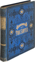 Books:Literature Pre-1900, Mark Twain. The Adventures of Tom Sawyer. Hartford:The American Publishing Company, 1876. First U. ...