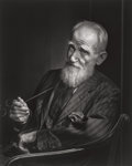 Photographs, Yousuf Karsh (Canadian, 1908-2002). George Bernard Shaw, 1943. Gelatin silver, printed later. 19-3/4 x 15-3/4 inches (50...